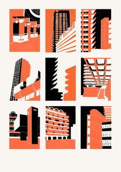 Reprodução do quadro Barbican