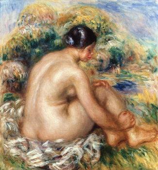 Reprodução do quadro Bather, 1915