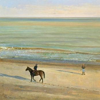 Reprodução do quadro Beach Dialogue, Dunwich