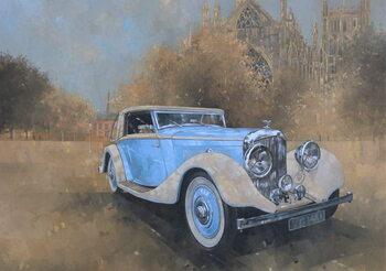 Reprodução do quadro Bentley by Kellner, 1936