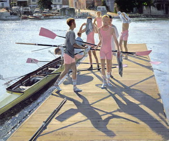 Reprodução do quadro Blades and Shadows, Henley, 1995