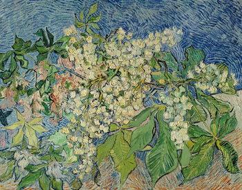 Reprodução do quadro Blossoming Chestnut Branches, 1890