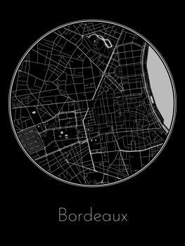 Mapa de Bordeaux