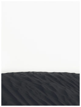 Ilustração border black sand