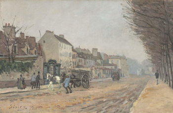 Reprodução do quadro Boulevard Héloïse, Argenteuil, 1872