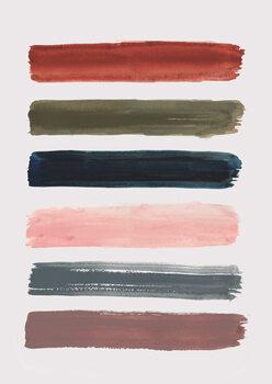 Ilustração Brush strokes