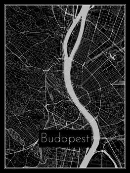Mapa de Budapest