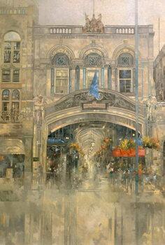 Reprodução do quadro Burlington Arcade