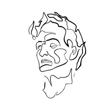 Ilustração Caesar