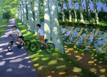 Reprodução do quadro Canal du Midi, France