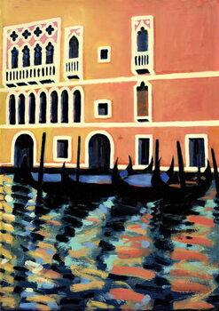 Reprodução do quadro Canal Grande I