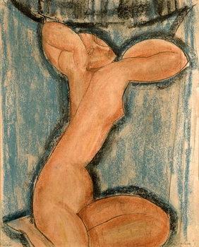Reprodução do quadro Caryatid, 1911