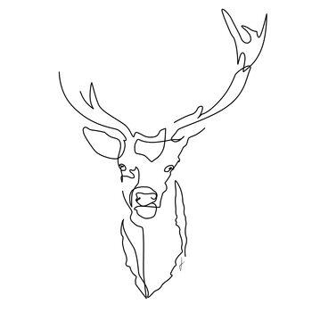 Ilustração Cervo