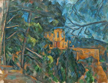 Reprodução do quadro Chateau Noir, 1900-04
