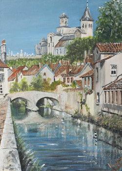 Reprodução do quadro Chattillons sur Seine, France, 2007,