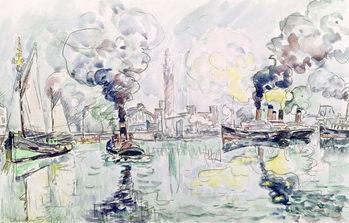 Reprodução do quadro Cherbourg, 1931