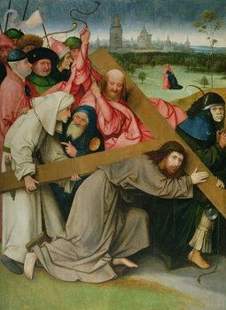 Reprodução do quadro Christ Carrying the Cross