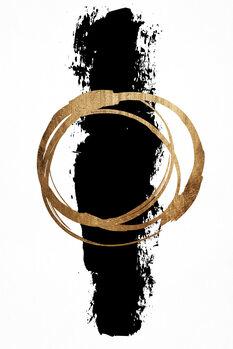 Ilustração Circle And Line