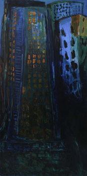Reprodução do quadro City - Night
