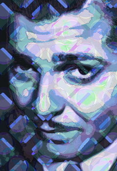 Reprodução do quadro Clark Gable, 2013