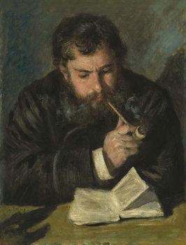 Reprodução do quadro Claude Monet, 1872