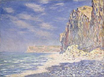 Reprodução do quadro Cliffs near Fecamp, 1881