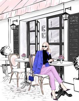 Ilustração Coffee time