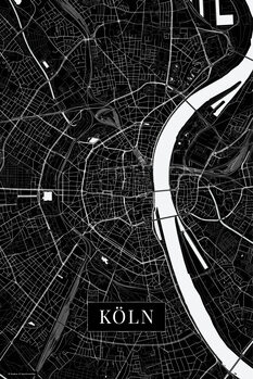 Mapa de Cologne black