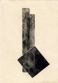 Reprodução do quadro Composition, 1922