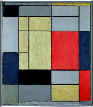Reprodução do quadro Composition I, 1920
