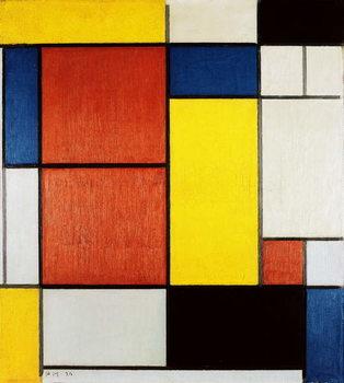 Reprodução do quadro Composition II