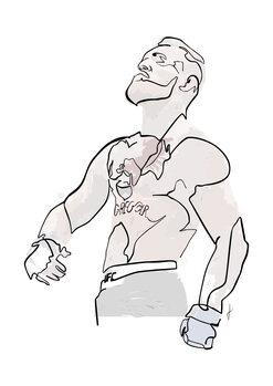 Ilustração Conor colore