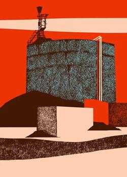 Reprodução do quadro Container, 2014