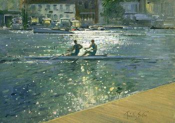 Reprodução do quadro Crossing the Light Break, Henley
