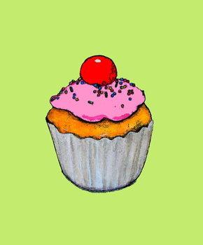 Reprodução do quadro Cupcake,2005