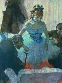 Reprodução do quadro Dancer in her dressing room