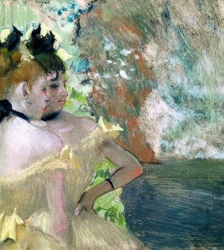 Reprodução do quadro Dancers in the Wings