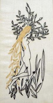 Reprodução do quadro Daphne,