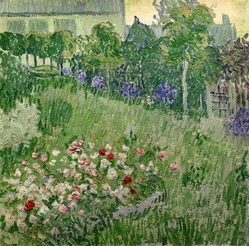Reprodução do quadro Daubigny's garden, 1890