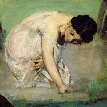 Reprodução do quadro Dejeuner sur l'Herbe, 1863 (oil on canvas)