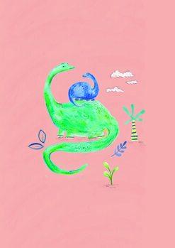 Ilustração Dino