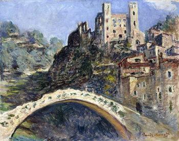 Reprodução do quadro Dolceacqua, 1884