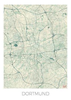 Mapa Dortmund