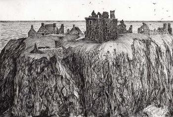 Reprodução do quadro Dunottar Castle, 2007,