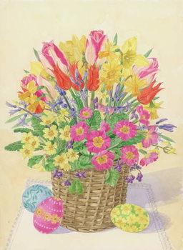 Reprodução do quadro Easter Basket, 1996