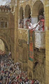 Reprodução do quadro Ecce Homo, illustration for 'The Life of Christ', c.1886-94