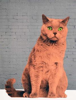 Reprodução do quadro Everybody wants to be a cat, 2017,