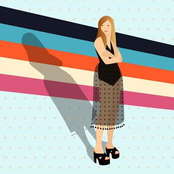 Reprodução do quadro Fashion Stripes