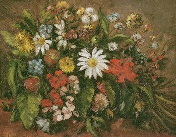 Reprodução do quadro Flowers, 1871