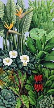 Reprodução do quadro Foliage II